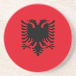 Sfr Yugoslav Albanian Minority, ethnic flag Beverage Coasters
