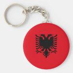 Sfr Yugoslav Albanian Minority, ethnic flag Keychain