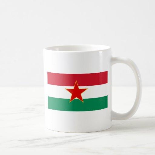 Sfr Yugoslav Hungarian Minority, ethnic flag Classic White Coffee Mug