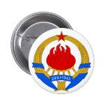 SFR Yugoslavia Pin Redondo 5 Cm