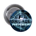 SFRBrigadeLogoV2 2 Inch Round Button