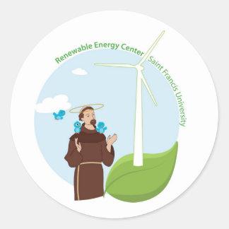 SFU REC Round Sticker