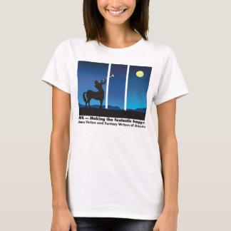 SFWA -- making the fantastic happen t-shirt