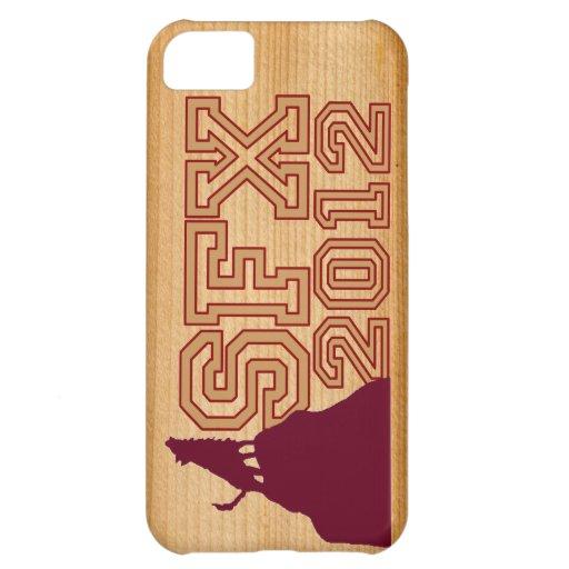 SFX 2012 FAUX-WOOD IP4CASE FUNDA PARA iPhone 5C