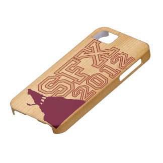 SFX 2012 FAUX-WOOD IP4CASE iPhone 5 COVERS