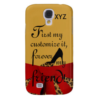 sG4Case Tread -Customize w/Initials & Relationship Samsung Galaxy S4 Case