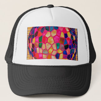 SG Light Red Glowing Crystal  Ball Trucker Hat