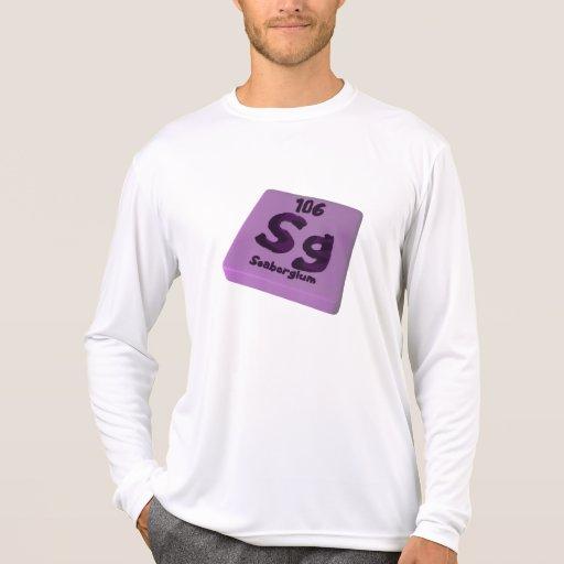 Sg Seaborgium Camisetas