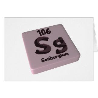 Sg Seaborgium Card