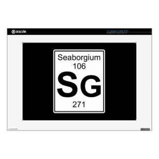 Sg - Seaborgium Skin For Laptop