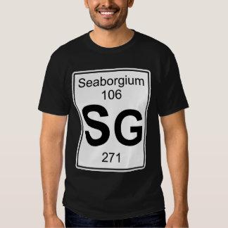 Sg - Seaborgium T-shirt