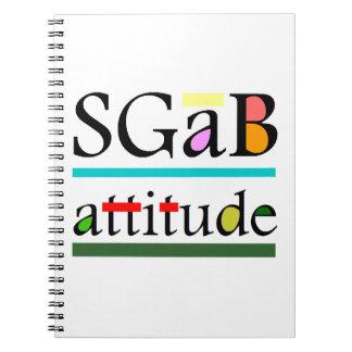 Sgab actitud spiral notebook