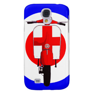 SGC Sixties Scooter on Mod Target Samsung Galaxy S4 Cases