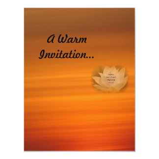 SGI Buddhist Personalised Invitation