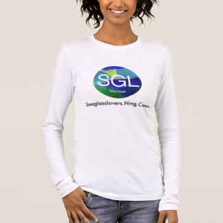 sgltshirt, Seaglasslovers.Ning.Com Long Sleeve T-Shirt