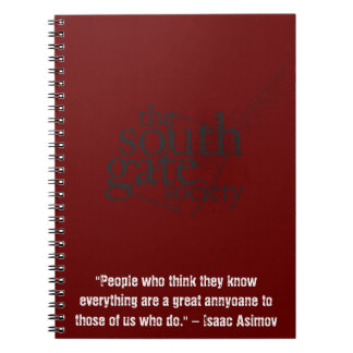 SGS Notebook Quote Asimov