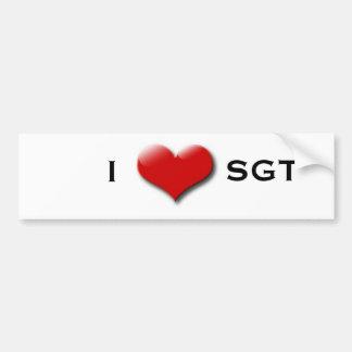 SGT Bumper Sticker