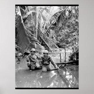 Sgt. Carl Weinke and Pfc. Ernest_War Image Poster