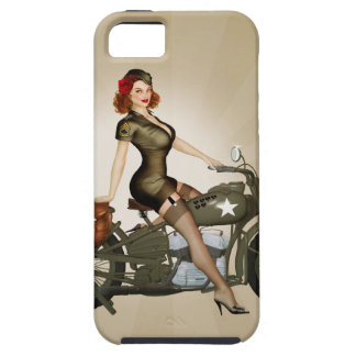 Sgt. Davidson Army Motorcycle iPhone 5 Case