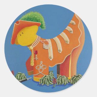 Sgt George Pepper Classic Round Sticker