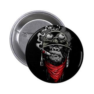 Sgt. Gorrilla Pinback Button