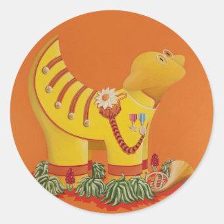 Sgt John Pepper Classic Round Sticker