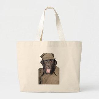Sgt Labrador Jumbo Tote Bag