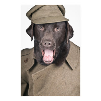 Sgt Labrador Stationery