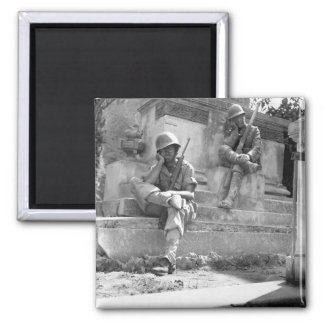 Sgt. Norwood Dorman, Benson_War Image Magnet