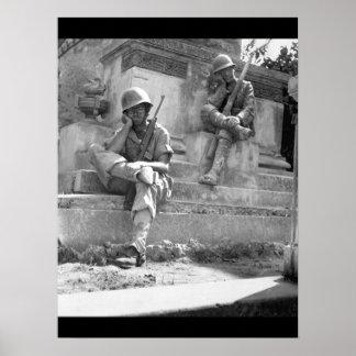 Sgt. Norwood Dorman, Benson_War Image Poster