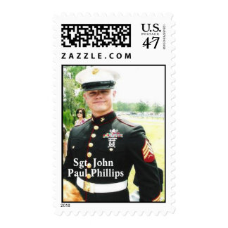 Sgt. Paul Phillips Postage Stamp