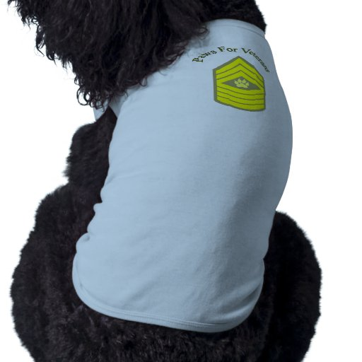 Sgt Paws for Dogs Pet Clothing