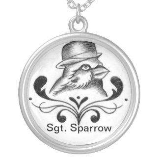 Sgt. Sparrow Pendant