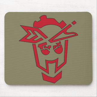 Sgt.STFU Industrial Stencil Glyph Mouse Pad
