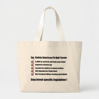 Sgt. Stubby -1 Tote Bags