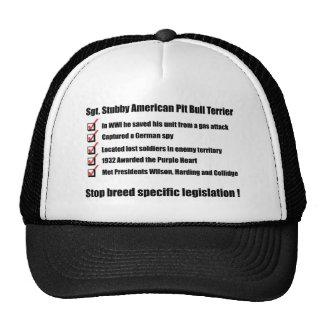 Sgt. Stubby -1 Mesh Hats