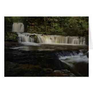 Sgwd Ddwli Waterfall Card