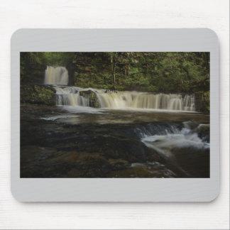Sgwd Ddwli Waterfall Mouse Pad