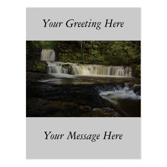 Sgwd Ddwli Waterfall Postcard