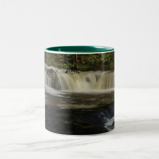 Sgwd Ddwli Waterfall Two-Tone Coffee Mug
