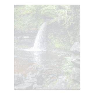 Sgwd Gwladys at Pontneddfechan Waterfalls, Wales Letterhead