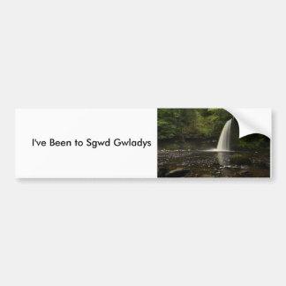 Sgwd Gwladys Waterfall 1 Bumper Sticker