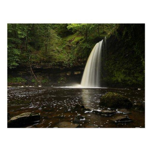 Sgwd Gwladys Waterfall 1 Post Cards Zazzle