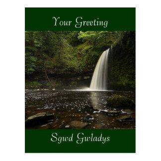 Sgwd Gwladys Waterfall 1 Postcard