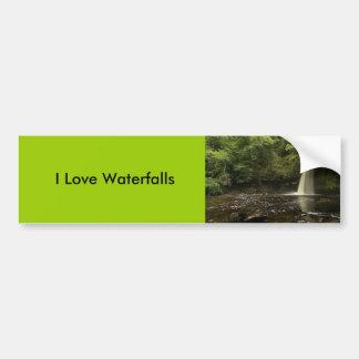 Sgwd Gwladys Waterfall 2 Bumper Stickers