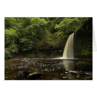 Sgwd Gwladys Waterfall 2 Card