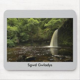 Sgwd Gwladys Waterfall 2 Mouse Pad