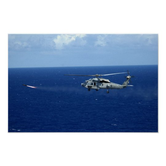 SH-60F Seahawk Póster