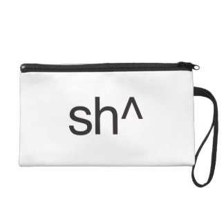 sh^.ai wristlet purse