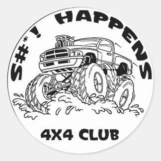 SH_black_Dodge Stickers